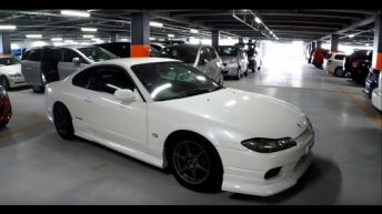 1999 Nissan Silvia S15 Spec R at Japanese (JDM) Car Auction
