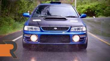400HP JDM Subaru Impreza STI Type R Version III | The Rumble in the Rainforest