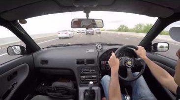 Delivering JDM Nissan Silvia S13 CA18DET