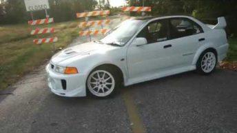 Quick Edit: Lancer Evo 5 RHD JDM USA
