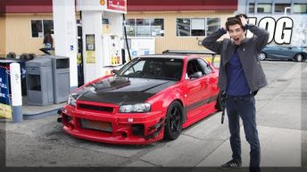 World's Rarest R34 GT-R Hits the Streets in the USA! (ATTKD Track Unicorn)