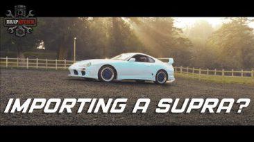 Zac's MK4 Toyota Supra - Importing A JDM Classic Is It Worth It? (2019)