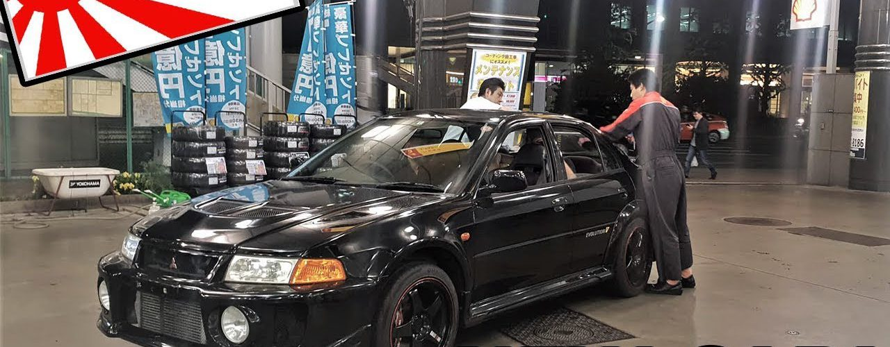 BOUGHT AN EVO IN JAPAN!
